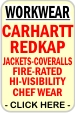click here for Professional WorkWear & Uniforms; BRANDS INCLUDE: RedKap, Bulwark, LiteFX, FirstCall, Sentinel, TheForce, Lee, Wrangler, Maintenance, Engineering70E, Medical, Police, Fire, EMS, Security, Restaurant, Housekeeping, Industrial, Utility, Protective, FR, Production, Manufacturing